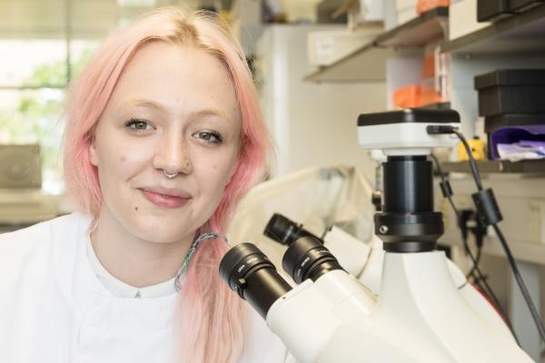 Sophie Jamieson - Lab Technician Apprentice,  Jenner Institute